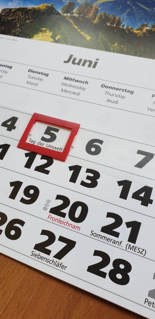 Date Indicator Calendar