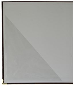 Self Adhesive Triangular Pocket